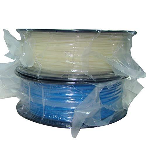 FAN-MING-N-3D, Glow in the Dark blue color 3d printer filamenten PLA/ABS 1.75mm/3mm 1kg/2.2lb Plastics Verbruiksgoederen Voor MakerBot RepRap UP Mendel