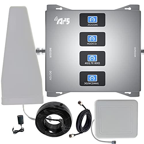4G 3G 2G LTE WCDMA GSM Amplificatore del segnale del telefono cellulare 800 900 1800 banda 20 8 3 1