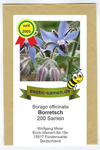 Borretsch - Bienenweide - Borago officinalis - 200 Samen