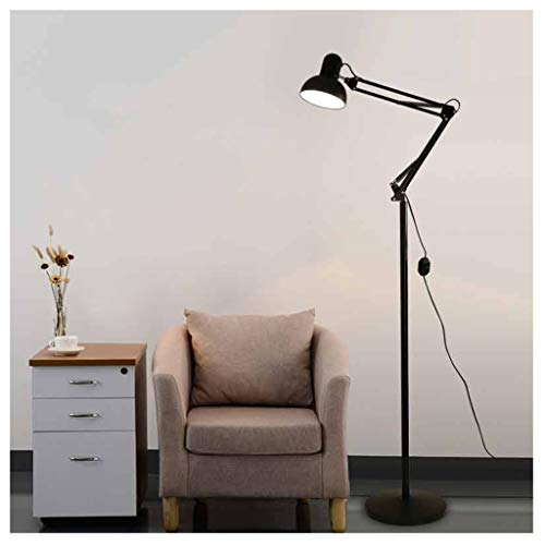 QTDH mooie, verstelbare vloerlamp met LED-arm, hoge Architektto Polo dimbare lamp van Lettura voor kantoor in de studio