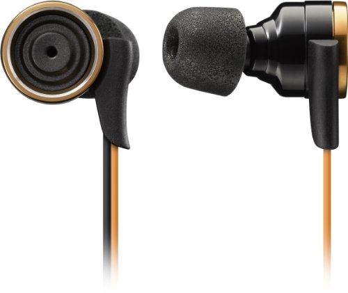 TDK LoR イヤカナルヘッドホン COMPLYフォームチップ付き 重低音サウンド CLEF-Xシリーズ ゴールド TH-XEC300GL