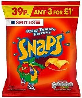 Smiths Snaps Spicy Tomato Flavour (21g x 30)