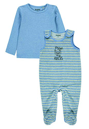 Kanz Baby-Jungen Strampler & T.Shirt 1/1 Arm, Mehrfarbig (0001), Gr. 56
