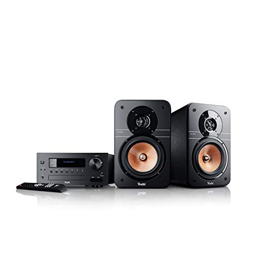 Teufel Ultima 20 Kombo (2019) Schwarz Stereo Lautsprecher Musik Sound Hochtöner Mitteltöner Bass Speaker High-End HiFi Soundanlage