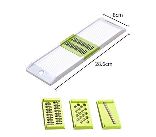 kaasrasp elektrische rasp Multifunctionele huishoudelijke groente snij- en versnipperaar - Eenvoudige 3-delige set