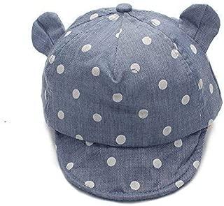 Dot Partten Baby Caps Summer Girl Boys Sun Hat with Ear Spring Summer Newborn Photography Props