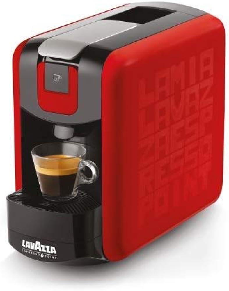 Lavazza,macchina da caffe` MINI RED