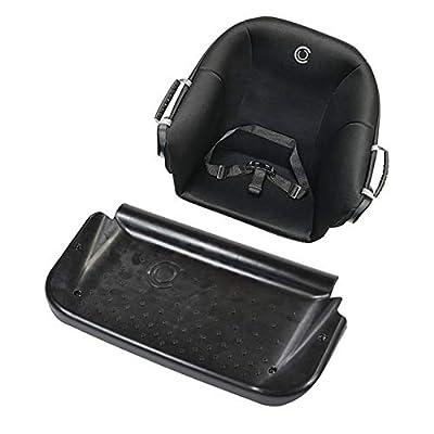 Contours Curve Sit & Boogie Jump Seat & Platform Attachment Accessory, Black