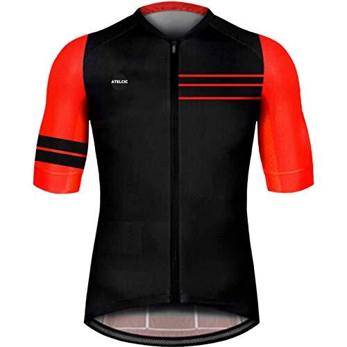 Atelcic Maillot para Ciclismo MTB Spinning Ciclismo de Carretera, Traje de Ciclismo...