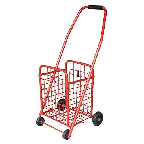 Praktischer Trolley, Klettergerüst, Einkaufswagen, Alterswagen, Trolley-Gepäckanhänger, Bewegliche Rolle (Color : A-1)