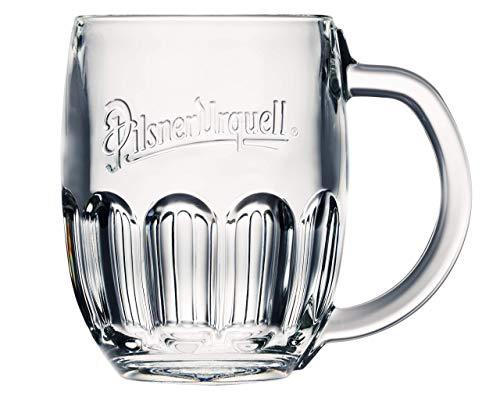 6 Stück Pilsener Urquell Glas Gläser 0,3l Bierglas Biergläser Humpen Seidel Tschechien
