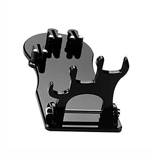 SCDGYG Plexiglás Soporte de la Hoja - Soporte Universal Plegable de la lámina, sin Soporte de la Hoja de la Hoja, Negro
