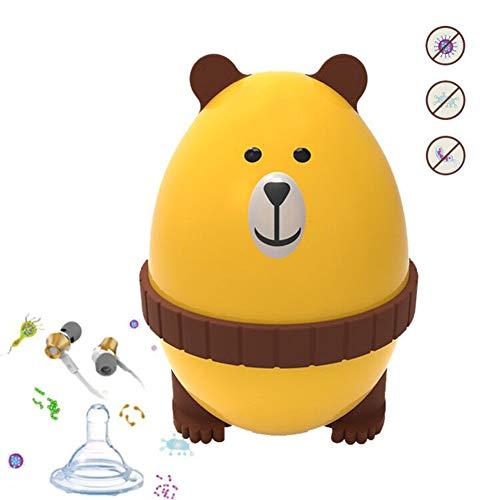 紫外線滅菌装置の宝石類/キー/付属品/イヤホーン/月経のコップのための携帯用創造的な旅行滅菌装置の赤ん坊のおしゃぶりの消毒剤