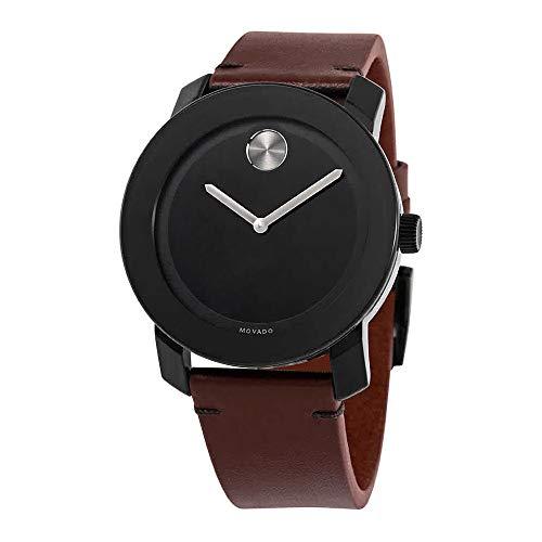 Movado Bold Quartz Black Dial Men's Watch 3600602