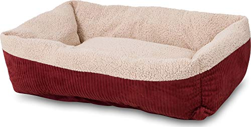 Petmate Aspen Pet Self-Warming Corduroy Pet Bed...