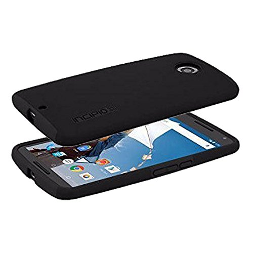 Original Incipio DualPro Dual Layer Protection Case For Motorola Nexus 6 (Black)
