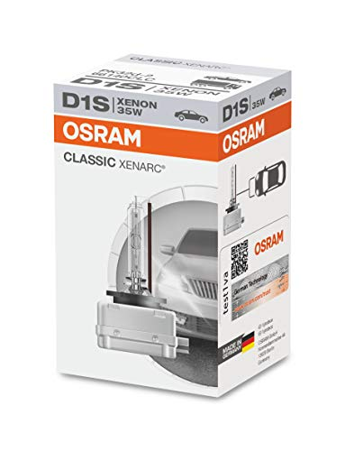 Osram 66140CLC Lampadina, Faro allo xeno luci di strada abbaglianti Fendinebbia, D1S, 35 W