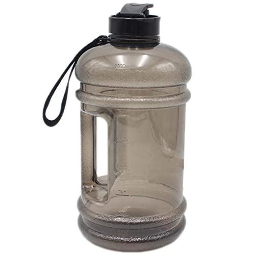 JWDS Botella deportiva Botella De Agua Botella De Viaje Tetera De Gran Capacidad Portátil Portátil A Prueba De Fugas 2.2L Botella De Agua Para Deportes Al Aire Libre Gimnasio