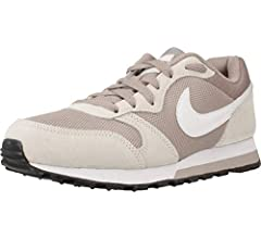 Nike MD Runner 2, Zapatillas de Running Mujer, Multicolor (Pumice/White/Phantom/Black 201), 38 1/2 EU: Amazon.es: Zapatos y complementos