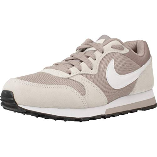 Nike MD Runner 2, Scarpe da Corsa Donna, Pumice/White/Phantom/Black, 40.5 EU