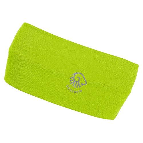 GIESSWEIN Stirnband Brentenjoch - Headband aus Merino Jersey, helmkompatibel, 100% Merino Wolle, atmungsaktives Sport Band für Damen & Herren, Jersey-Band, Helmband