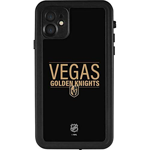 Skinit Waterproof Phone Case for iPhone 11 - Officially Licensed NHL Vegas Golden Knights Lineup Design