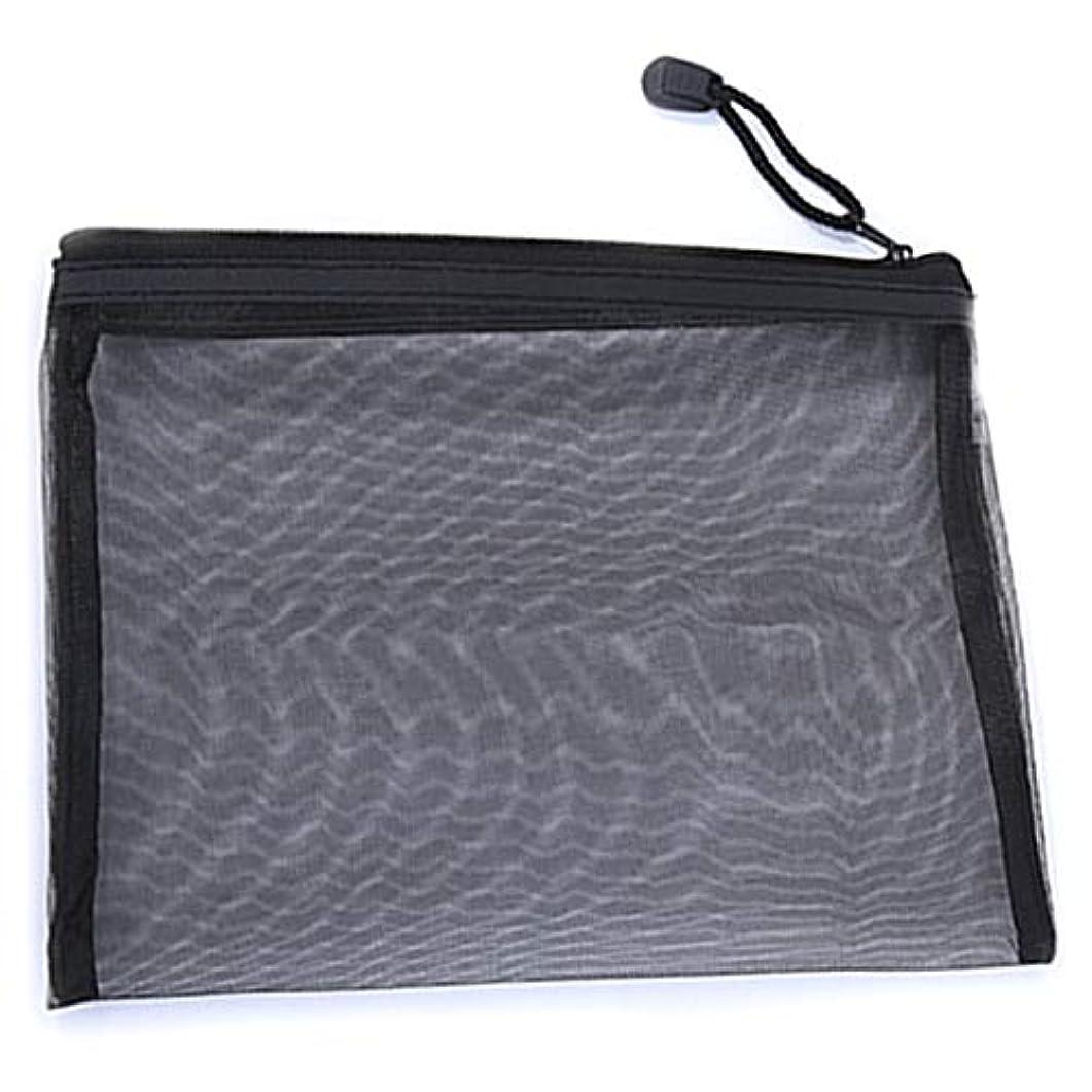 付属品メール実証するSemoic カジュアル旅行化粧品バッグ ニュートラル ジッパー メイクアップ透明化粧ケース オーガナイザー 収納ポーチ トイレタリー美容ウォッシュ キット バッグ