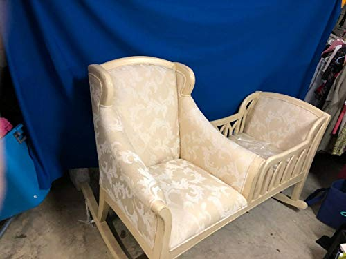 Buy Bargain Cradle Rocker and Rocking Chair New Never Used Can Be Used from The Beginning of The New...