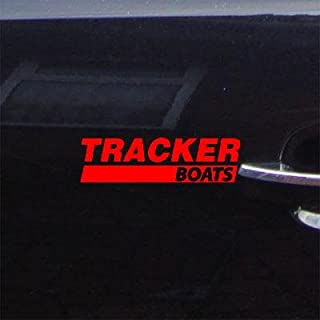 Vinyl Adhesive Vinyl Wall Window Tracker Boats RED Decal Sticker Wall Art Helmet Art Home Decor CAR Boat Cruiser CAR
