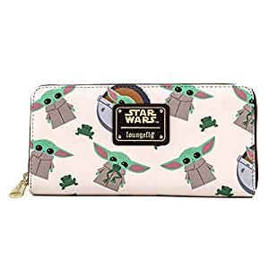 Loungefly Star Wars Baby Yoda The Mandalorian All Over Print Wallet