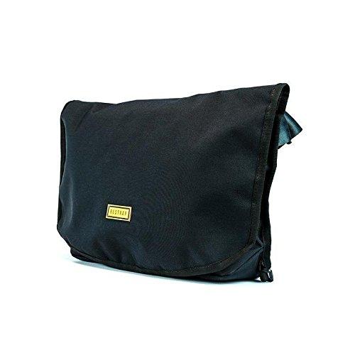 RESTRAP Messenger Bag zwart waterdichte tas accessoires bagagedrager fiets volwassenen unisex zwart 45 x 28 x 10 cm