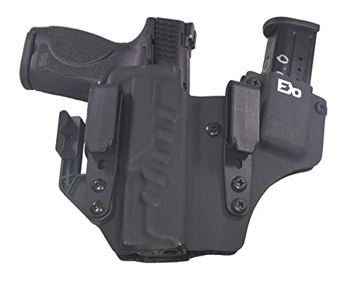 FDO Industries (Formerly Fierce Defender IWB Kydex Holster S&W MP 2.0 Compact (4') +1 Series w/Claw -Made in USA- (Black)