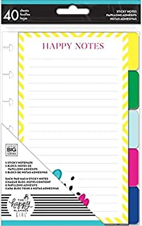 MAMBI, The Happy Planner Girl, Socialite, Sticky Note Tabs