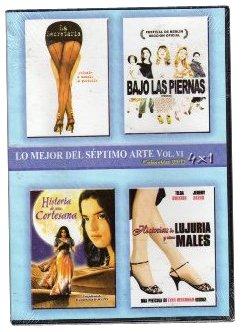 Pack 4-Movie Purchase Set: Secretary La Segretaria + Las Bajo Piedras Albuquerque Mall