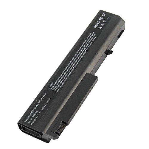 ARyee 5200mAh 10.8V NC6100 Batteria per notebook Batteria Alimentatore per notebook HP Compaq Business 510b 6515b 6710b 6710s 6715b 6715s 6910p NC6100 NC6105 NC6110 NC6115 NC6120 NC6140 NC6200