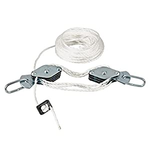 Silverline 633957 Juego de poleas de cable 180 kg