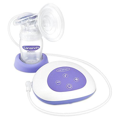 Lansinoh 54050 Elektrische Einzel-Milchpumpe inkl. NaturalWave Sauger Gr. S