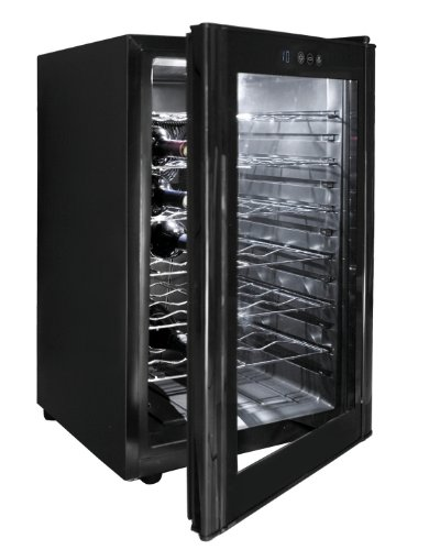 Lacor 69175 - Armario vino black line 28 botellas 10-1
