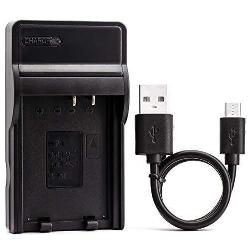 LP-E10 USB Cargador para Canon EOS 1100D, EOS 1200D, EOS Kiss X50, EOS Rebel T3 Cámara y Más