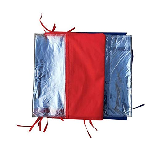 Garden Gazebo Tent,Fully Waterproof, Instant Canopy Wall Panel Rainproof Shading Shelter for Tents Outdoor (3x3m /3x6m 3x9m Red/Blue)