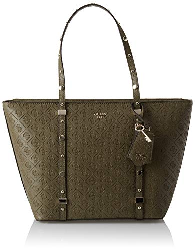 Guess Damen to Coast Tote, Grün (Olive/Olv), 46x28x12.5 centimeters