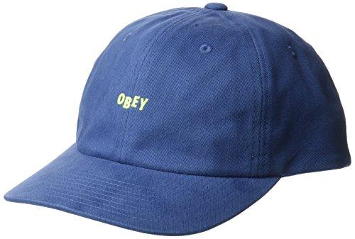Obey Hombres 100580074 Gorra de béisbol - Azul - Talla...