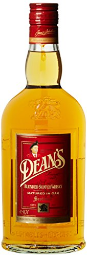 Deans Finest Blended Old Scotch Whisky (1 x 0,7 l) - Schottischer Whisky in Eichenfässern gereift - weiche Malz- und Eichentöne mit sanftem Nachklang
