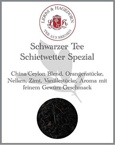 Schwarzer Tee Schietwetter Spezial 250g