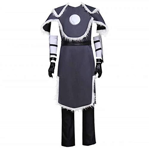 Godmoy Avatar The Last Airbender Disfraz Sokka/Zuko/Korra Disfraz de Cosplay de Halloween para Hombres y Mujeres