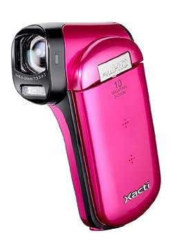SANYO Vpc-Cg20Exp-B Xacti Cg20 Full Hd Dual Camcorder with 10M Photos and Hdmi - Pink