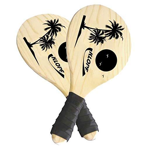 Kit Tenis De Praia Frescobol Estampado Coqueiros Klopf