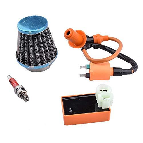 RETYLY GY6 CDI Zündspule Zündkerze Mit 39Mm Luftfilter Für 50Ccm 125Ccm 150Ccm Roller-Leistung Teile