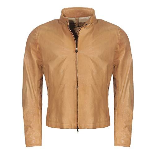 Matchless Herren Sommer Leder Jacke FOLKESTONE Print Blouson Cuero 113132 Größe L