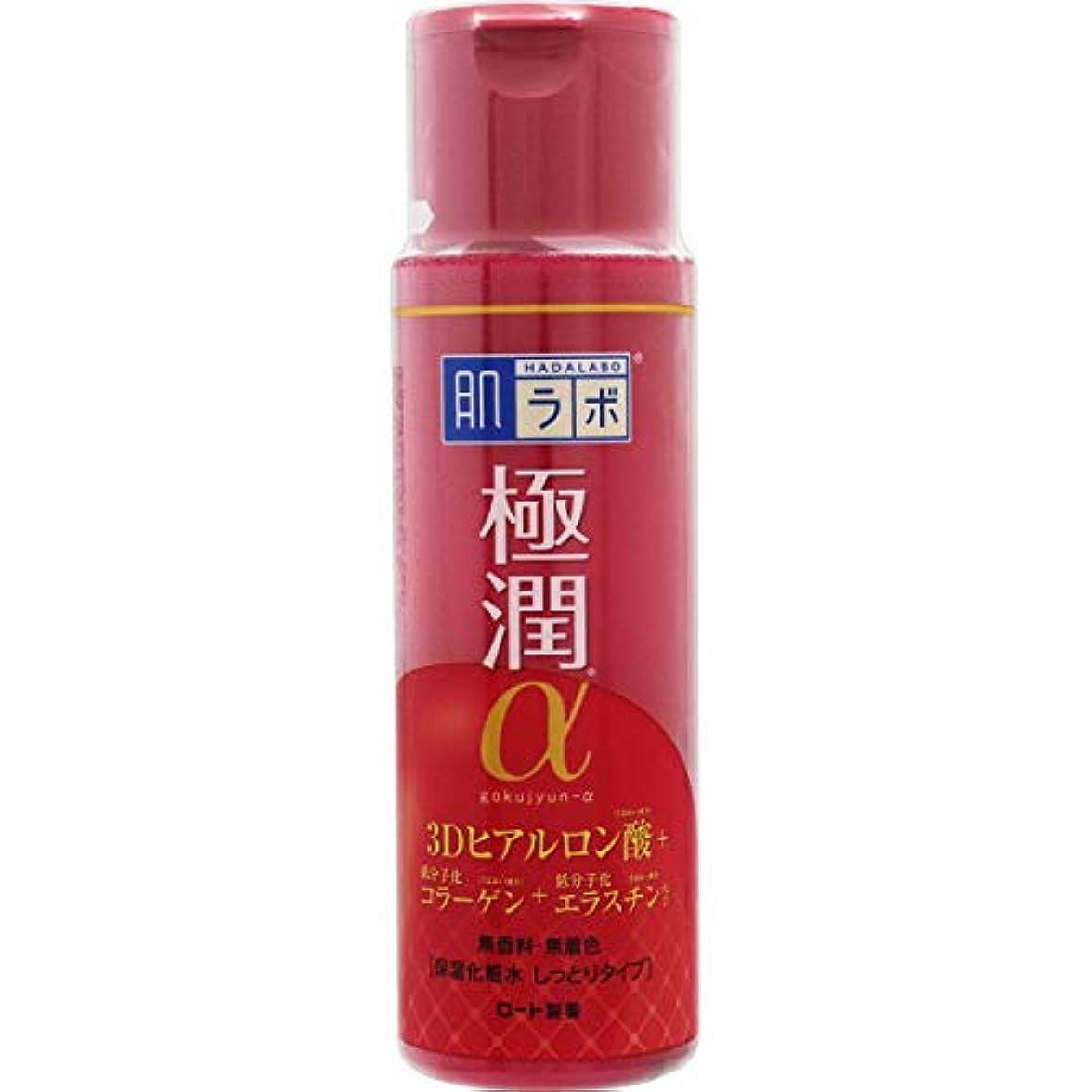 若者カンガルー裏切り【まとめ買い】肌ラボ 極潤α ハリ化粧水しっとりタイプ 170ml×7個